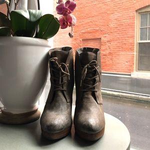 MICHAEL KORS wedge booties for sale!